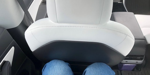 The driver's seat isn't all the way back in this photo, but set comfortably for the author's 6-foot 1-inch frame.