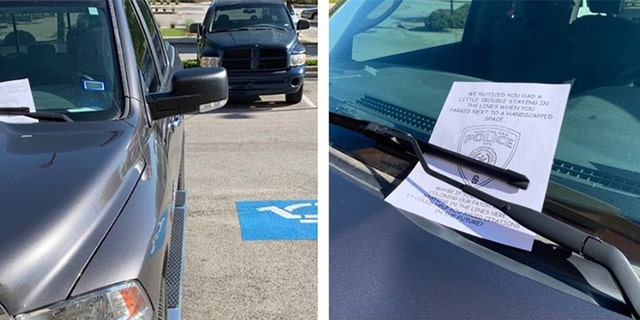 Westlake Legal Group tickets-1280 Cops burn bad parking job with coloring book lesson on staying inside the lines Gary Gastelu fox-news/auto/attributes/safety fox news fnc/auto fnc article 6de33267-9d84-550e-bf39-ffe162058978