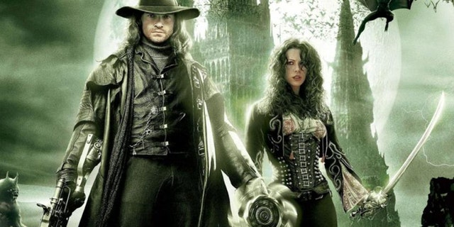 'Van Helsing' opens with a fight scene on th roof of Notre Dame.