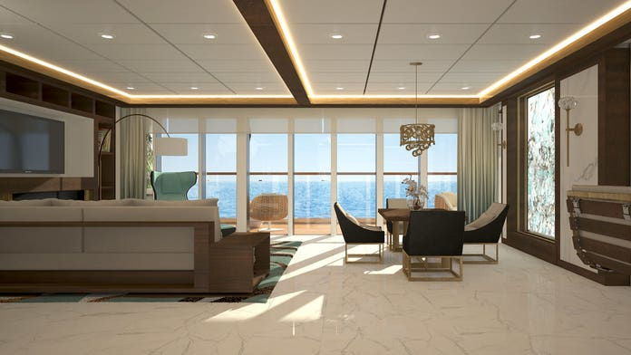 New cruise line Blue World Voyages selling luxury residences aboard the ship