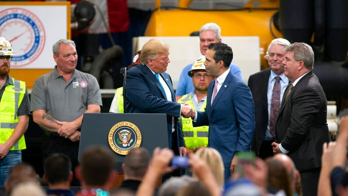 Trump says George P. Bush, Texas Land Commissioner, is 'the only Bush that likes me'