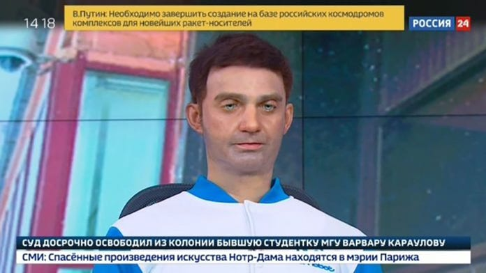 Russian news anchor robot sparks 'propaganda' controversy: report