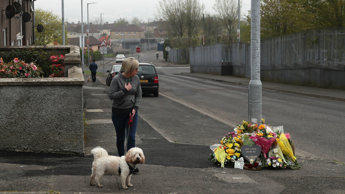The Latest: Woman arrested in killing of N Ireland reporter