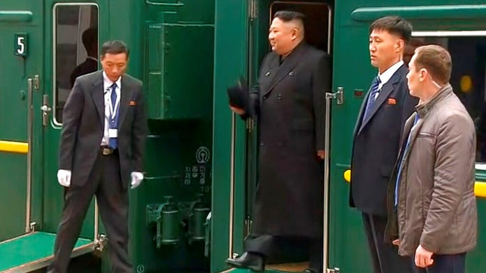 Kim Jong Un's arrival in Russia for Putin summit hit by train mishap