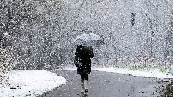 Late April storm dumps snow across Midwestern states, Chicago faces up to 8 inches