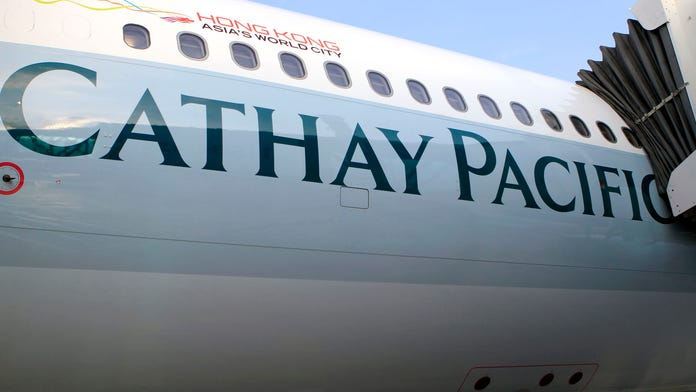 Cathay Pacific pilot falls ill midflight and becomes unable to fly plane