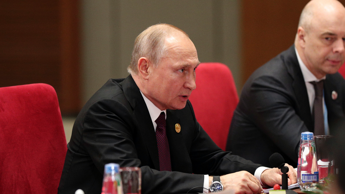 Putin: Belt and Road fits with Eurasian Economic Union goals