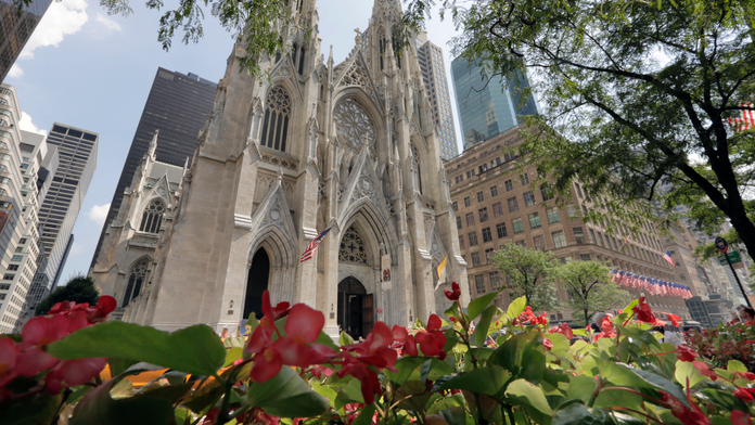 The Latest: NYC cathedral suspect had booked flight to Italy