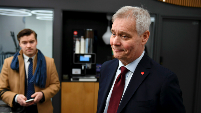 Finland's center-left Social Democrats narrowly top poll