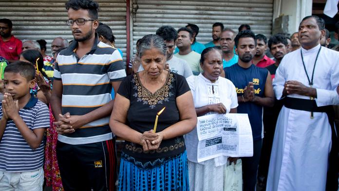 The Latest: Warning letter raises questions in Sri Lanka