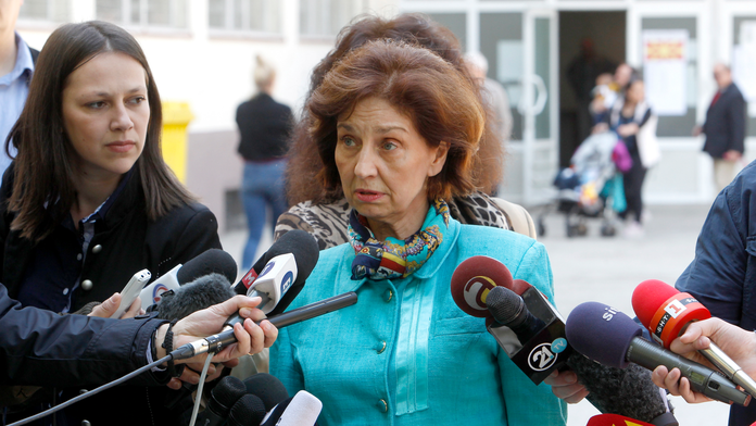 The Latest: Runoff vote inevitable in North Macedonia