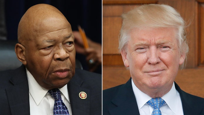 Trump doubles down on Cummings criticism as Dems, Baltimore officials defend 'hero' rep
