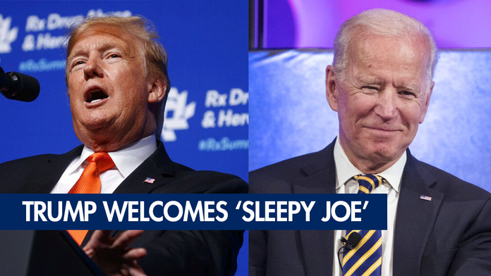 Trump doesn't think Biden will be able to 'do the job'