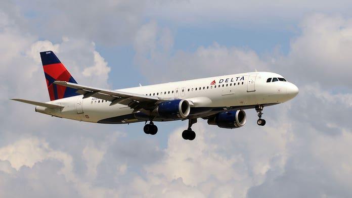 Delta plane's exterior 'crumpled' during hard landing