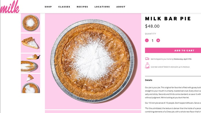 Milk Bar to change famous 'Crack Pie' name after increasing criticism