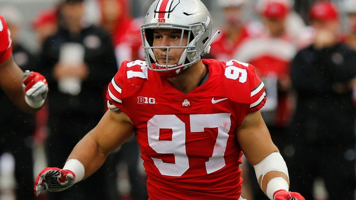Nick Bosa's tweets on Trump, Kaepernick had no impact on 49ers drafting him, team president says
