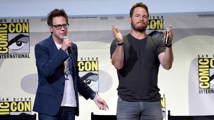 Chris Pratt reveals he's 'so thrilled' to work with re-hired James Gunn on 'Guardians of the Galaxy 3'