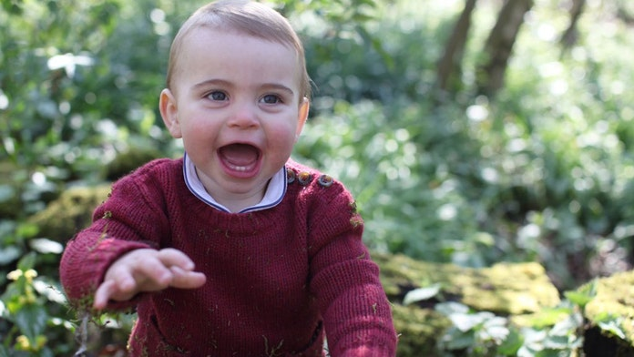 Kensington Palace releases photos of Prince Louis ahead of his first birthday