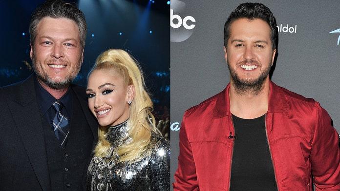 Luke Bryan describes outing with Blake Shelton, Gwen Stefani: 'It's great to be around them'
