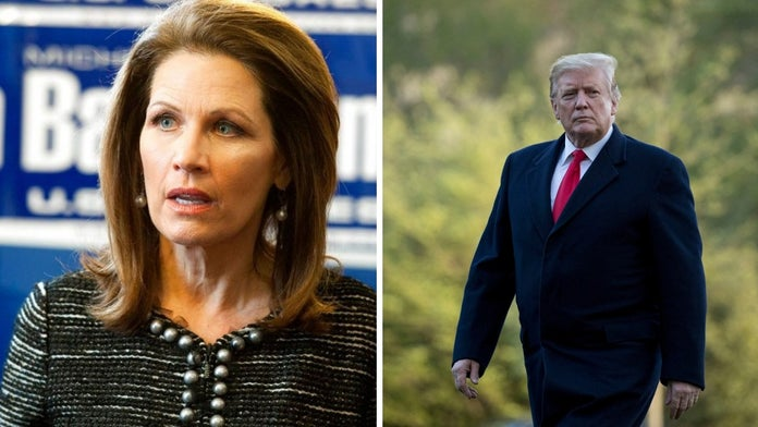 Ex-House Rep. Michele Bachmann exalts Trump: We will 'never see a more godly, biblical president'
