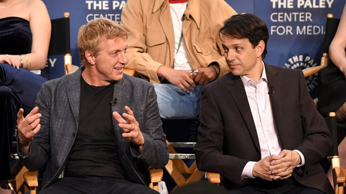 'Karate Kid' star William Zabka had to be removed from Disneyland after he was surrounded by fans