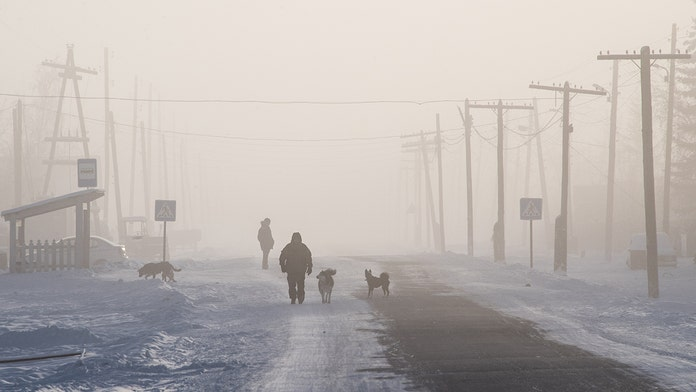 'Disaster worse than Chernobyl' looms as ancient anthrax spores could be blasted into the sky by 'frozen me...