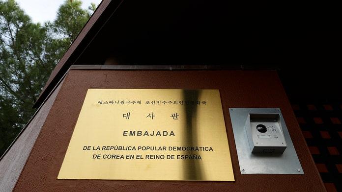 Former Marine arrested in raid at North Korean embassy in Spain