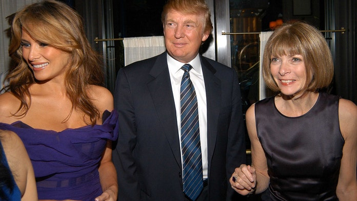 Vogue editor Anna Wintour sidesteps question about Melania Trump's style, discusses Michelle Obama instead