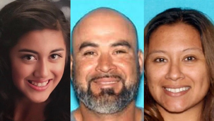 Abandoned vehicle found near Mexico border amid search for missing California girl, 2 murder suspects