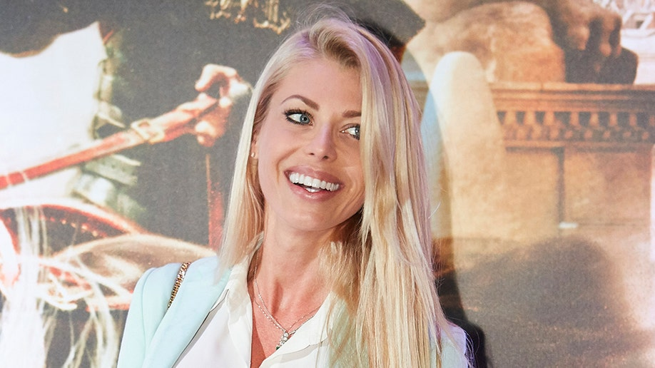 SAO PAULO, BRAZIL - AUGUST 01: Caroline Bittencourt attends the Brazil Premiere of the Paramount Pictures film