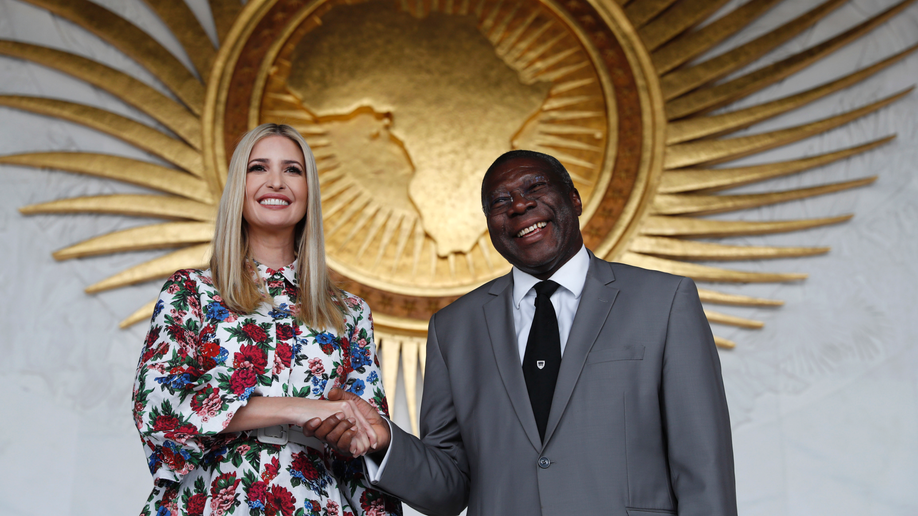 Ivanka Trump begins African tour