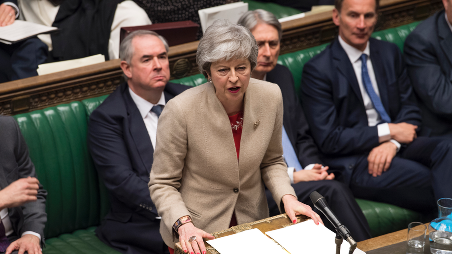 Theresa May under fire as MPs rule out no-deal Brexit