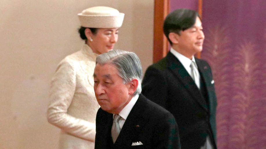 Emperor Naruhito takes part in inheritance ceremony