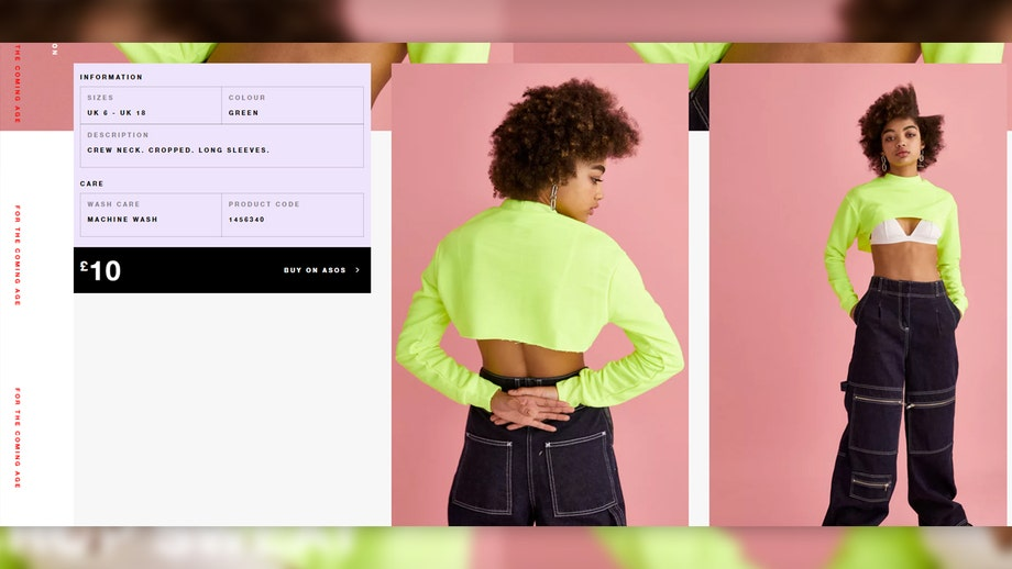 f3a7933d50126 ASOS confuses customers with neon  super crop top  that doesn t cover  anything