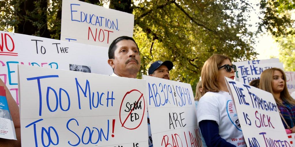 California OKs new sex-ed guidelines for teachers despite objections ...