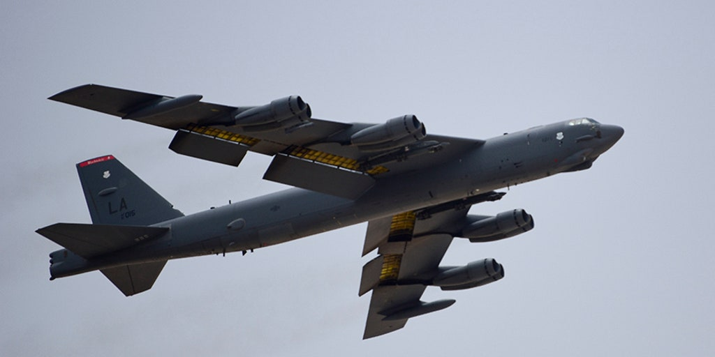 Air Force sends message to Iran by releasing images of Bomber Task