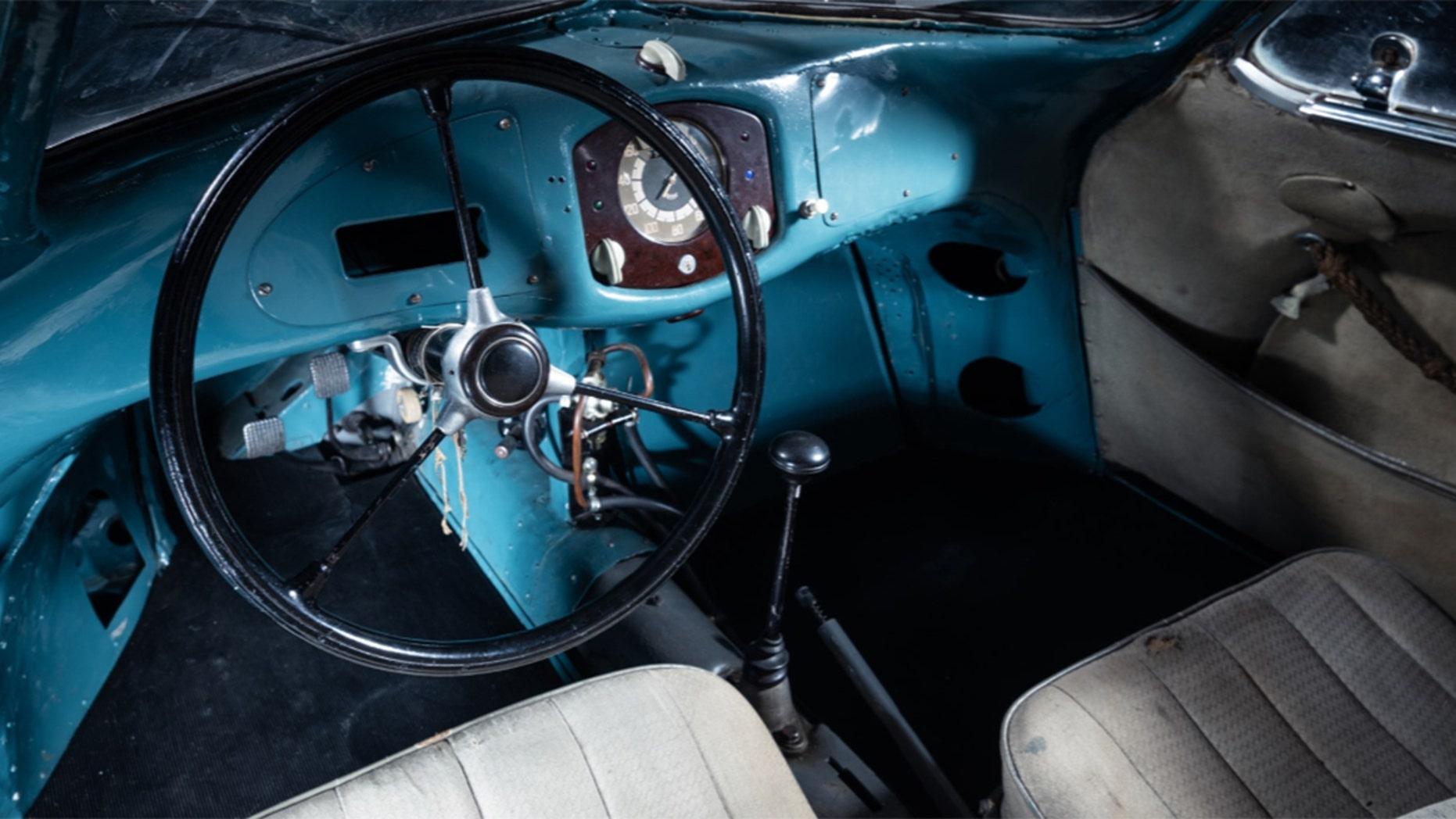 Oldest Porsche Type 64 interior
