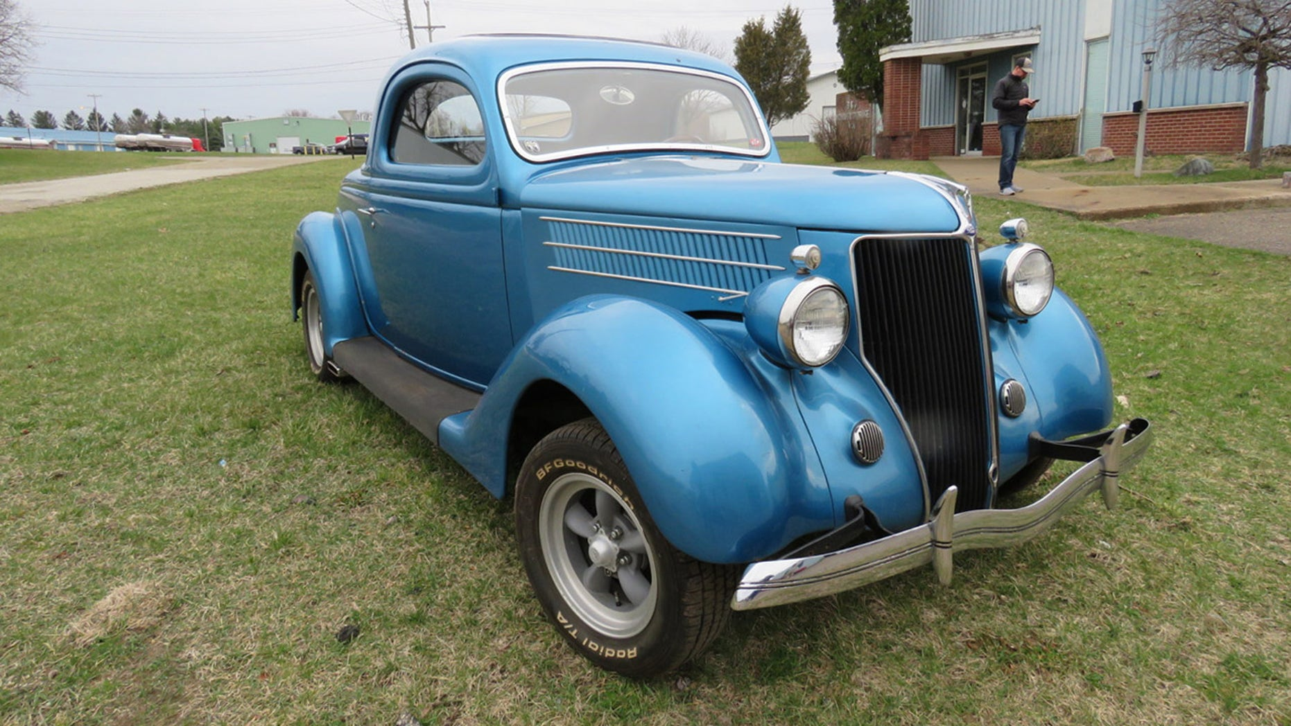 Jeff Begg Car Collection-1936 S Window Coupe