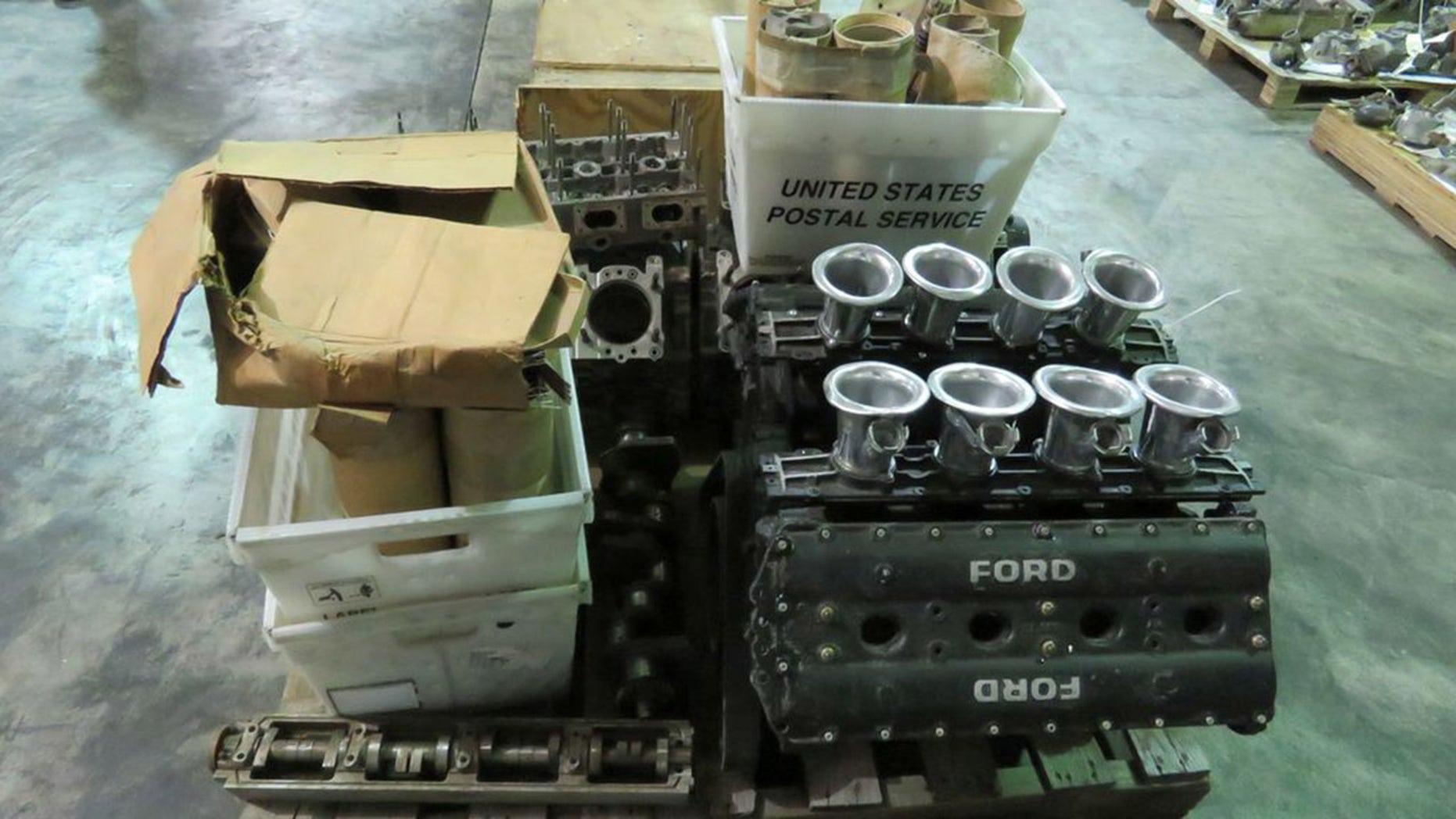 Ford Cosworth Engine