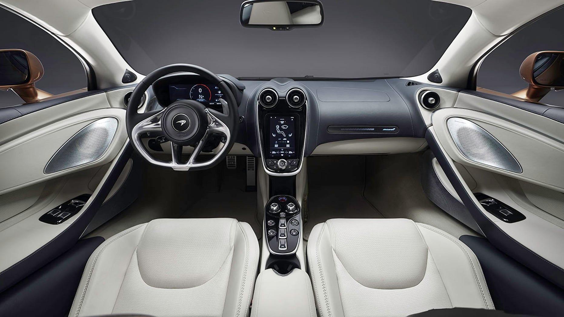 2019 Mclaren GT interior