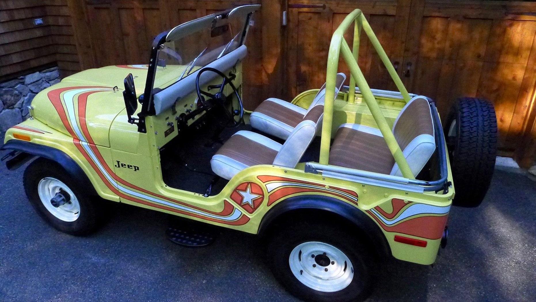 1973 CJ-5 Super Jeep