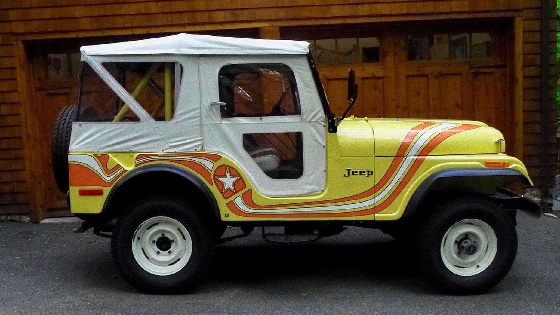 1973 CJ-5 Super Jeep side view