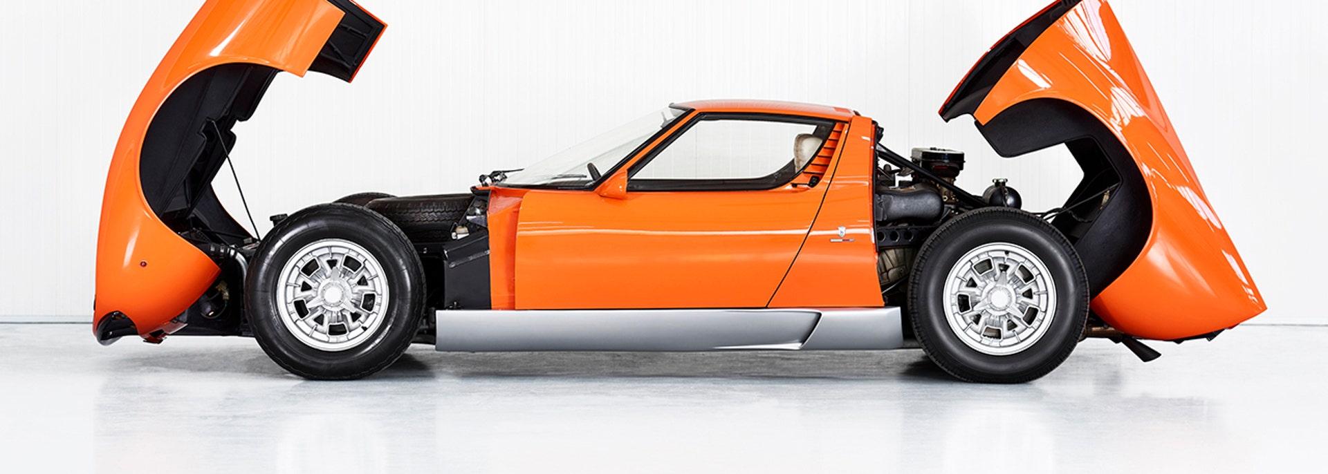 Italian Job Lamborghini Miura Found After 50 Years Fox News