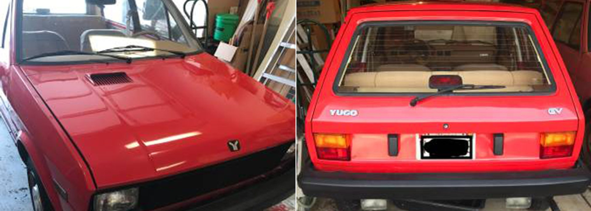 Like new' Yugo on Craigslist was parked in a garage for 31 years