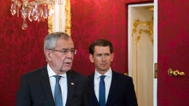 Austrian government, the blueprint for Europe's new wave of populism, fighting for its political life