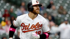 MLB's Chris Davis connects with young fan who helped end player's record hitless streak