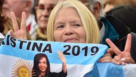 Fernández-Fernández: Argentine pair launch presidential bid