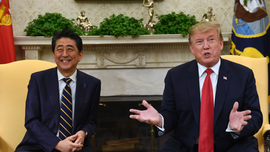 Japan welcomes Trump with a charm campaign, golf and sumo
