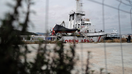 The Latest: Migrant boats intercepted in English Channel