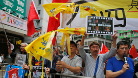 Thousands march in Hong Kong to commemorate June 4 protests